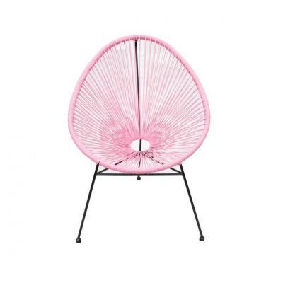 Modern szék, rózsaszín - SAO PAULO